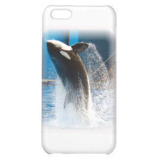 Killer Whale jumping iPhone 5C Case