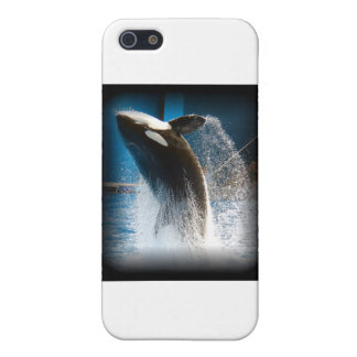Killer Whale Jumping Cover For iPhone 5