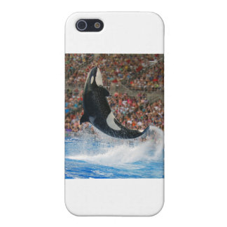 Killer whale jumping case for iPhone 5