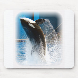Killer Whale jumping Mouse Pad