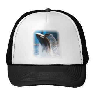 Killer Whale jumping Trucker Hat