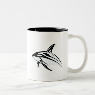 Killer Whale Leaping Collection Two-Tone Coffee Mug