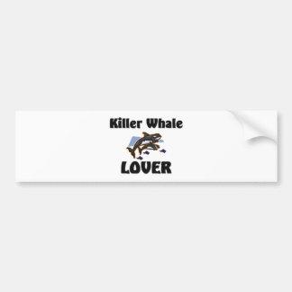 Killer Whale Lover Bumper Stickers
