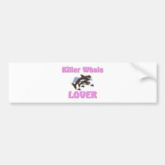 Killer Whale Lover Bumper Sticker