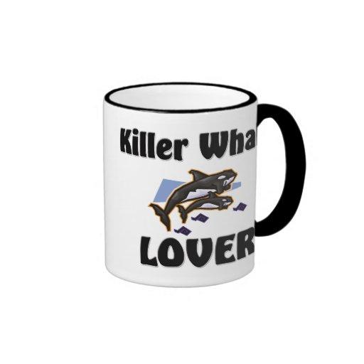 Killer Whale Lover Ringer Coffee Mug