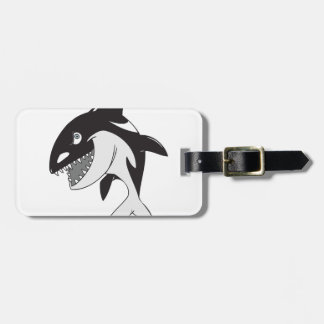 Killer Whale Luggage Tag