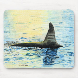 """Killer Whale"" Mouse Pad"