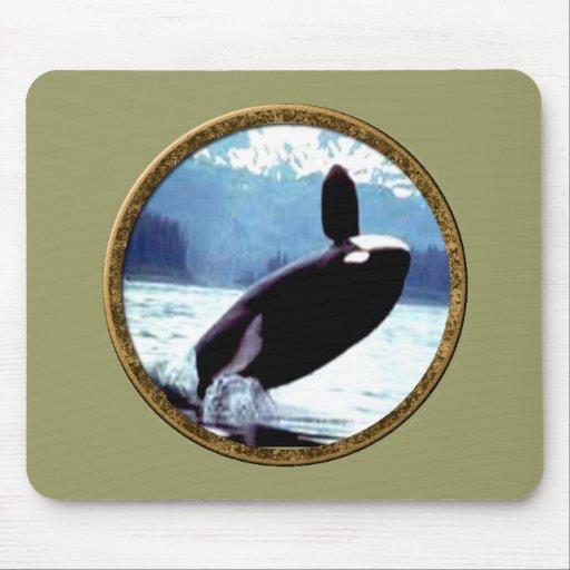 Killer Whale Mouse Pad