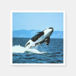 Killer Whale Napkin