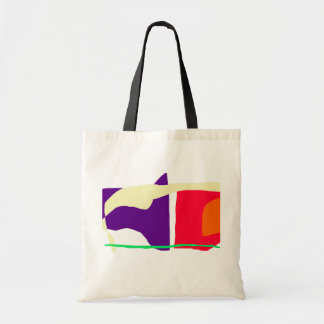 Killer Whale Notwithstanding Human Beings and Logi Tote Bag