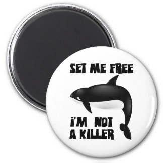 Killer Whale - Orca 2 Inch Round Magnet