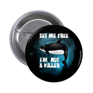 Killer Whale - Orca Buttons