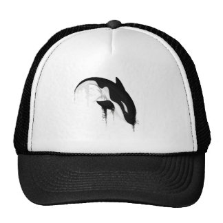 Killer Whale Orca by Crem Trucker Hat