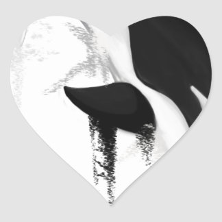Killer Whale Orca by Crem Heart Sticker