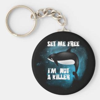 Killer Whale - Orca Keychain