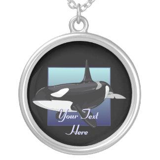 Killer Whale Orca Necklace