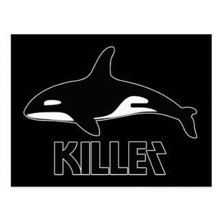 Killer Whale Orca of Death Postcard