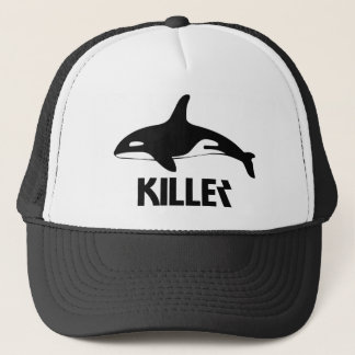 Killer Whale Orca of Death Trucker Hat