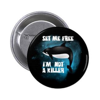 Killer Whale - Orca Pinback Button