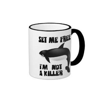 Killer Whale - Orca Ringer Mug