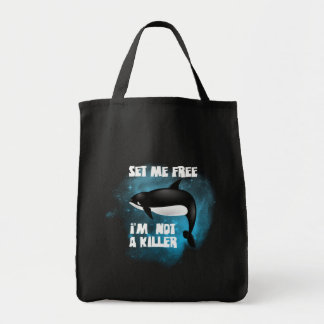 Killer Whale - Orca Tote Bags