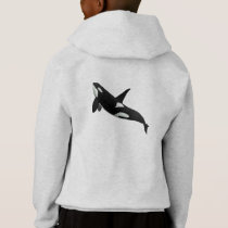Killer Whale, Orcinus Orca Hoodie