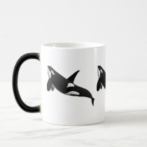 Killer Whale, Orcinus Orca Magic Mug