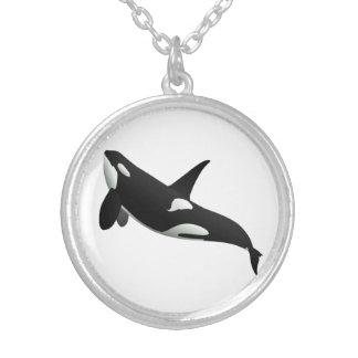 Killer Whale, Orcinus Orca Necklaces