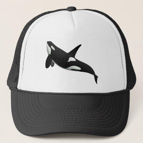 Killer Whale Orcinus Orca Trucker Hat