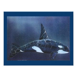 Killer Whale Personalized Invitations