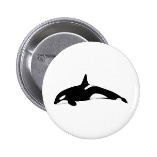 Killer Whale Pinback Button