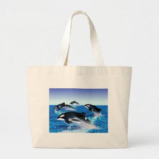 Killer Whale Pod Canvas Bag