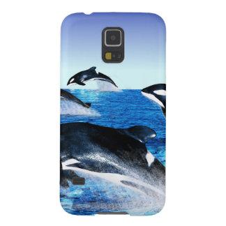 Killer Whale Pod Galaxy S5 Cover