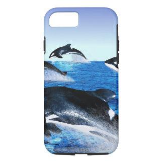 Killer Whale Pod iPhone 7 Case