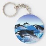 Killer Whale Pod Keychains