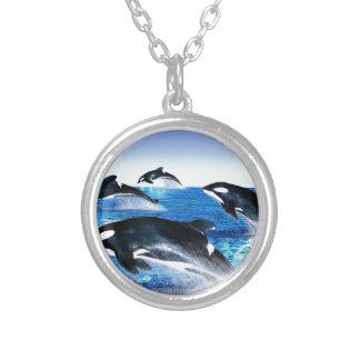 Killer Whale Pod Necklace