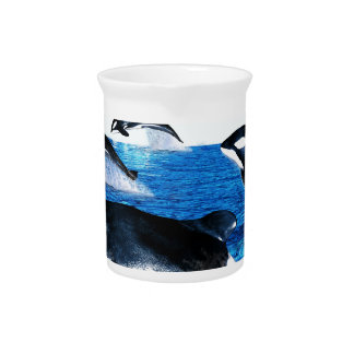 Killer Whale Pod Drink Pitchers