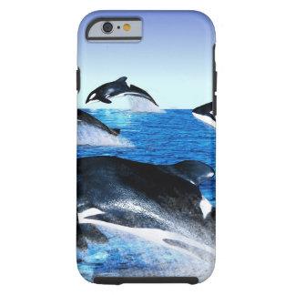 Killer Whale Pod Tough iPhone 6 Case