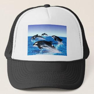 Killer Whale Pod Trucker Hat