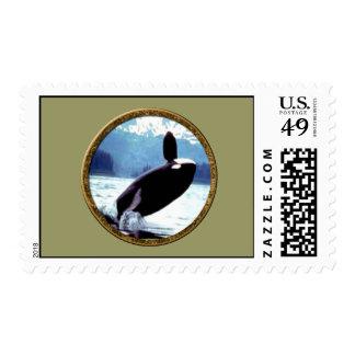 Killer Whale Postage