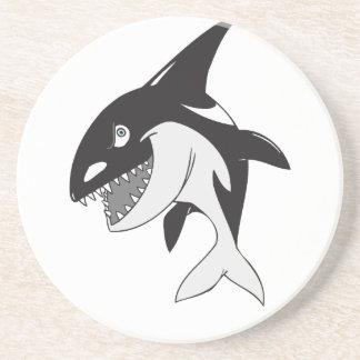Killer Whale Sandstone Coaster