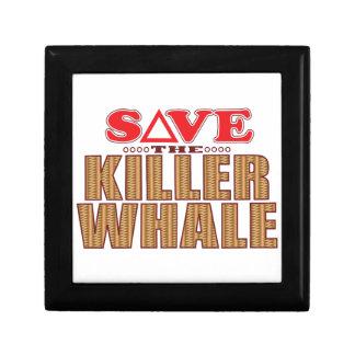 Killer Whale Save Jewelry Box
