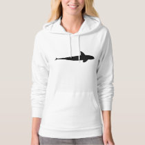 Killer Whale Silhouette Hoodie