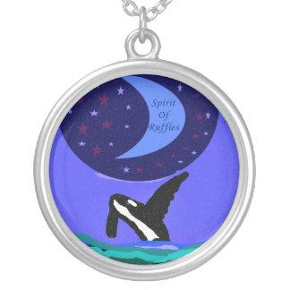 Killer Whale spirit necklace