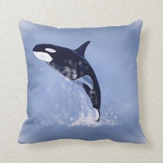 Killer Whale Throw Pillows
