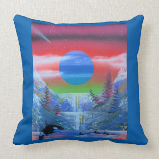 Killer Whale Toss Cushion. Throw Pillows