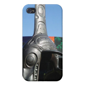 killer whale totem case for iPhone 4