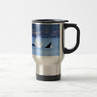 Killer Whale Travel Mug