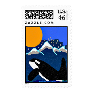 Killer Whale Tribute to Ruffles Postage