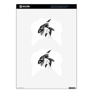 Killer Whale Xbox 360 Controller Skin